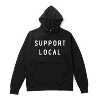 Support Local Hoodie - Black