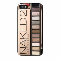 naked palette 2 cases for iphone se 5 5s 5c 4 4s 6 6s plus