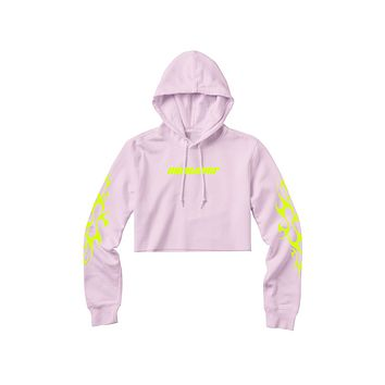 Whatever Cropped Hoodie