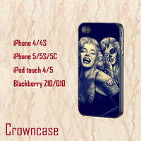 marilyn monroe--iphone 5s case,iphone 5c case,iphone 5 case,iphone 5s cover,iphone 5c cover,iphone 5 cover,in plastic and silicone.