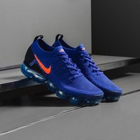 Nike Air VaporMax Flyknit 2.0 W Blue Running Shoes 942842-400