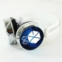 EXO KPOP Accessories hot sale Starry Sky Headphone