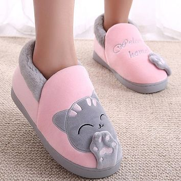 Cotton Slipper,Fantasy Carnivorous CatSlippers Indoor Sandals Shoes Flat Winter Sleeppers