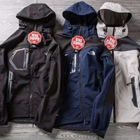 THE NORTH FACE Fashion Hooded Zipper Cardigan Sweatshirt Jacket Coat Windbreaker Sportswear G-ZDL-STPFYF