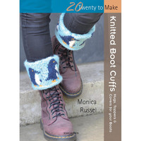 Search Press Books-Knitted Boot Cuffs (20 To Make)