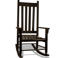 Tortuga Outdoor Traditional Wooden Rocking Chair