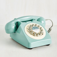 Called It! Phone | Mod Retro Vintage Electronics | ModCloth.com