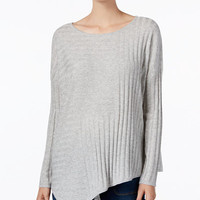 INC International Concepts Asymmetrical Tunic Sweater, Only at Macy's - Sweaters - Women - Macy's