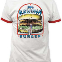 PULP FICTION BIG KAHUNA BURGER MENS TEE