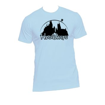 Hogwarts Ladies or Mens T Shirt, Harry Potter, Hogwarts, Azkaban, Nerd Girl Tees, Geek Chic, T-Shirt