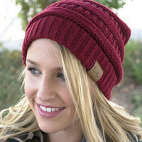 Retro Women's Soft C.C. Beanies
