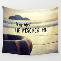 BIble Verse Wall Tapestries Collection By Quote Life Shop | Society6