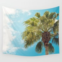 Let the Sunshine in Wall Tapestry by The Dreamery | Society6