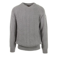 Ben Sherman Mens Cable Knit Solid Pullover Sweater