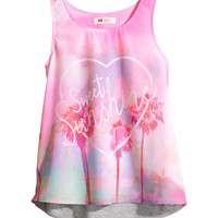 H&M Top with a print 9,95 €