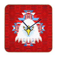 Chobopop American Flag Eagle Custom Clock