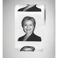 Hillary Clinton Toilet Paper - Spencer's
