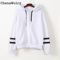 2016 New Hot Sales Women's Fashion Womens Long Sleeve Hoodie Sweatshirt Jumper Hooded Pullover Tops Blouse Free Shipping Nov 25