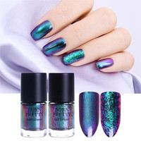 BORN PRETTY 9ml Chameleon Nail Polish Eternal Life Destiny Fairy Sequins Melody Violet Galaxy Glitter Nail Lacquer Varnish