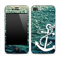 Rough Water Anchor iPhone Skin