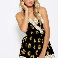 Sun Kissed Playsuit - Sunflower