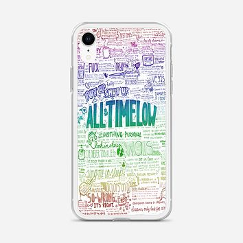 All Time Low iPhone XR Case