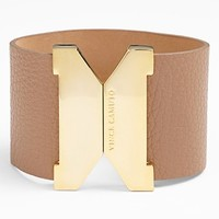 Vince Camuto Wide Faux Leather Bracelet (Special Purchase) | Nordstrom