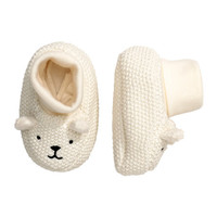 Knit Slipper Socks - from H&M