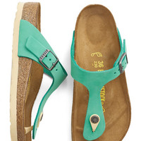 Birkenstock Boho Turquoise by the Sea Sandal