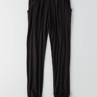 Don't Ask Why Relaxed Jogger Pant, Black
