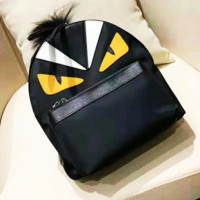 Fendi sells fashionable women's patchwork backpacks