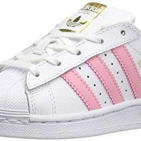 DCCKXI2 adidas Girls' Preschool Superstar Casual Shoes #BY3718 adidas original superstar