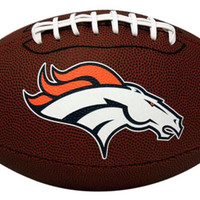 NFL Denver Broncos Game Time Football