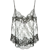 GIVENCHY BLACK LACE TOP