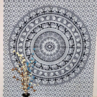Indian Wall Hanging Hippie Tapestry Mandala Tapestries 100% Cotton Bedspread Throw Table Cloth