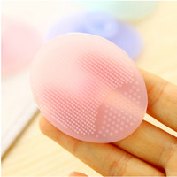 Cleaning Pad Wash Face Facial Exfoliating Brush SPA Skin Scrub Cleanser Tool