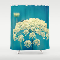 Lace Shower Curtain by Olivia Joy StClaire