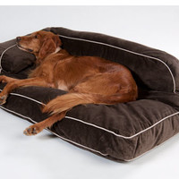 Drs. Foster & Smith Luxury Chaise Lounge Dog Bed