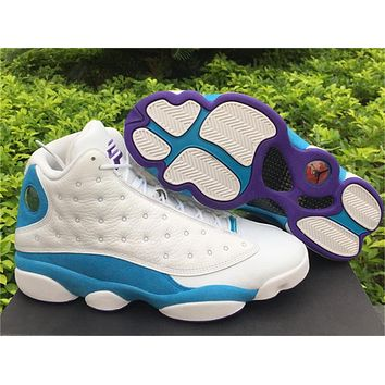 Air Jordan 13 Retro PE White Blue Sneaker 36-47