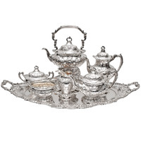 Gorham Sterling Silver Chantilly Grand Tea And Coffee Set