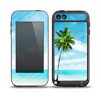 The Paradise Beach Palm Tree Skin for the iPod Touch 5th Generation frē LifeProof Case