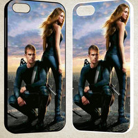 Shailene and Theo Divergent F0016 iPhone 4S 5S 5C 6 6Plus, iPod 4 5, LG G2 G3, Sony Z2 Case