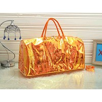 LV fashion hot seller ladies transparent print gradient casual shopping shoulder bag #4