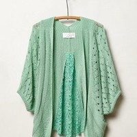 Pointelle Cocoon Cardigan by