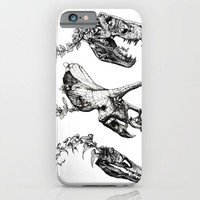 Jurassic Bloom. iPhone & iPod Case by Sinpiggyhead