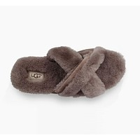 UGG Lover Women Men Fur Slipper Shoes
