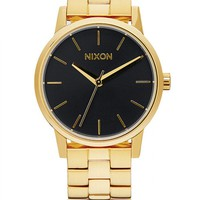 Nixon Small Kensington - All Gold/ Black Sunray