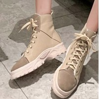 The new style is a hot seller of simple casual joker boots with thick sole and short boot