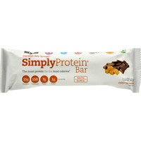 Simplyprotein Protein Bar - Chocolate Caramel Peanut - 1.41 Oz - Case Of 12