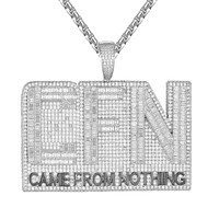 Mens Baguette Bling CFN Came From Nothin Hip Hop Pendant